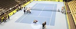 Sportski pod teniski pod